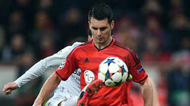 Emir Spahic (R): Is being investigated by German police on suspicion of aggravated assault