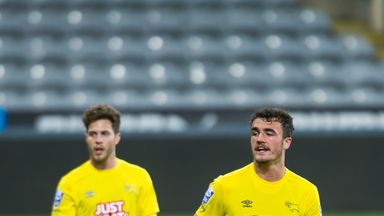 Farrend Rawson: At Rotherham on loan from Derby County