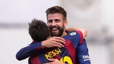 Gerard Pique confident Lionel Messi will feature against Celta Vigo.