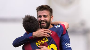 Gerard Pique confident Lionel Messi will feature against Celta Vigo.