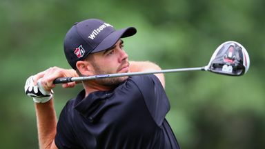 Troy Merritt: Goes into the final round with a three-shot lead