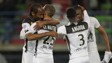 Guingamp earned a surprise win over Marseille