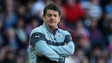 John Carver: Hoping for a good atmosphere against Tottenham on Sunday