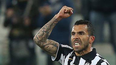 Carlos Tevez: Argentine striker scored twice in Juventus' win over Fiorentina