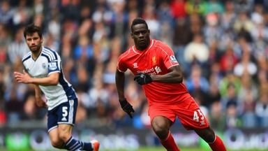Liverpool's Mario Balotelli failed to make much of an impression