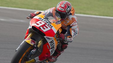 Marc Marquez: The Spaniard had surgery on a fractured finger on Saturday but could still race in Jerez next week