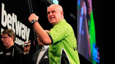 Michael van Gerwen: 116.90 average in victory over James Wade