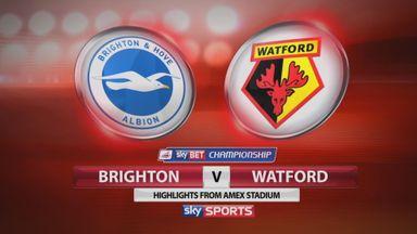 Brighton 0-2 Watford