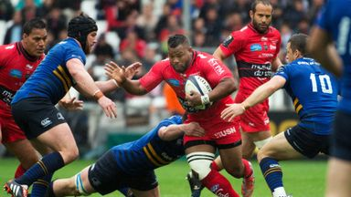 Steffon Armitage made a huge impact at the breakdown when introduced against Leinster
