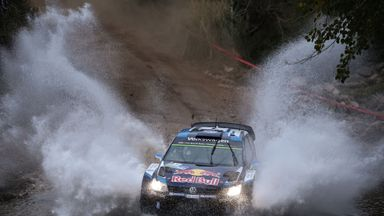 Sebastien Ogier, before his breakdown in Argentina