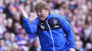 Former manager Stuart McCall is proud of the response he got at Rangers
