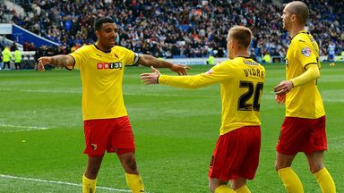 Watford secured their promotion on Saturday