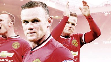 Wayne Rooney: Data shows his best position is up front