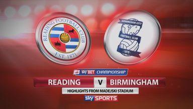 Reading 0-1 Birmingham