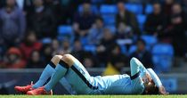 David Silva: Was taken off on a strecther against West Ham