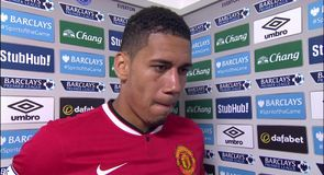 Smalling rues lack of aggression