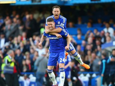 John Terry and Gary Cahill are both in the PFA XI