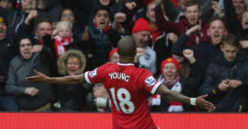 Ashley Young: Manchester United winger reportedly a Tottenham target