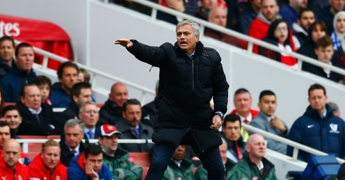 Jose Mourinho: Title within reach