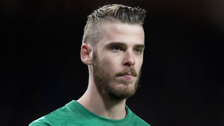 David de Gea: Set to sign new deal