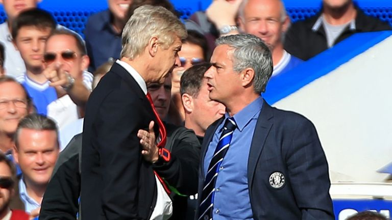 Jose Mourinho and Arsene Wenger will lock horns again on Saturday