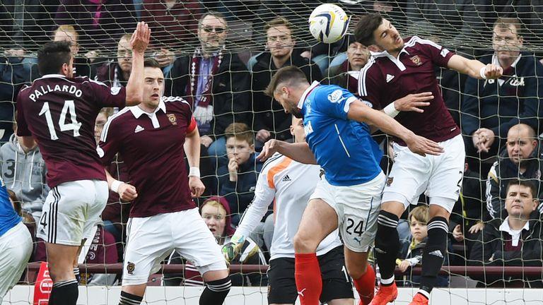 hearts 2 2 rangers match report amp highlights