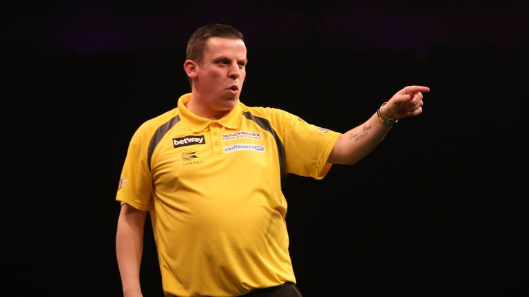 Dave Chisnall compiled the most 180s in last season's Premier League