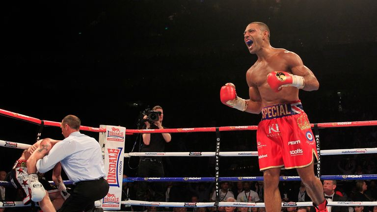 Is Kell Brook (R) a potential opponent for Marquez?
