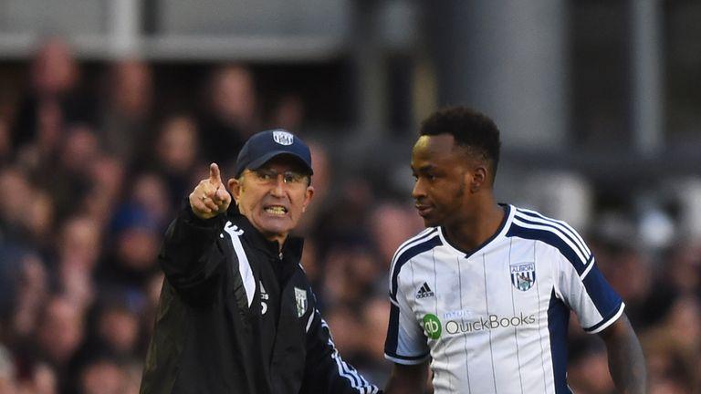 Tony Pulis is hoping to keep hold of star striker Saido Berahino
