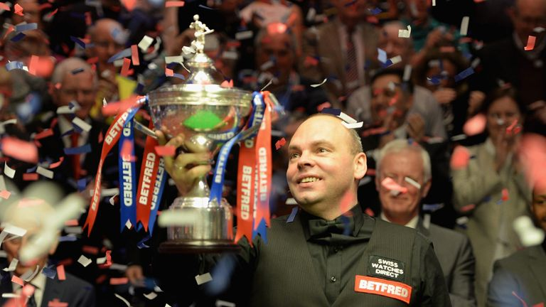 Bingham tasted Crucible glory two years ago lifting the world trophy in Sheffield