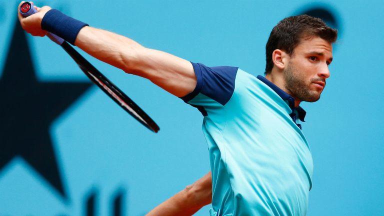 Grigor Dimitrov has won two ATP titles so far in 2017