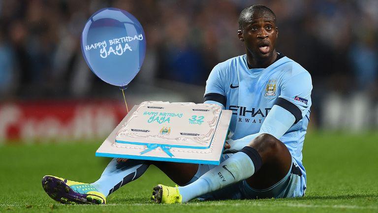 Birthday Cake Yaya Toure