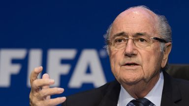 Sepp Blatter: Fears he may be arrested if he leaves Switzerland.