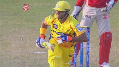 Suresh Raina helped steer Chennai to victory over Kings XI