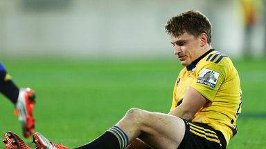 Beauden Barrett: Out for four weeks.