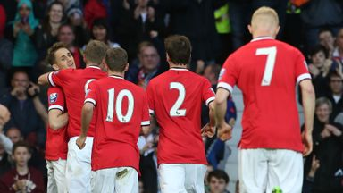 Adnan Januzaj: Goal and assist at Old Trafford