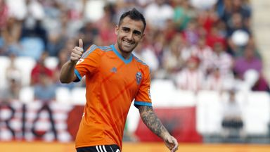 Paco Alcacer: Scored winner at Almeria