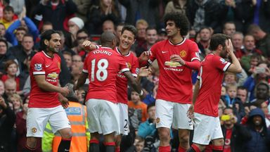Manchester United finished 17 points behind Chelsea last season