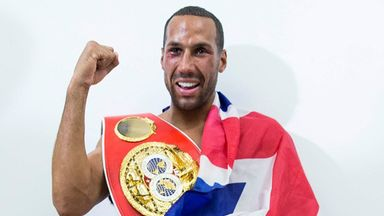 James DeGale will make the first defence of his IBF title against Lucian Bute (Mark Robinson)