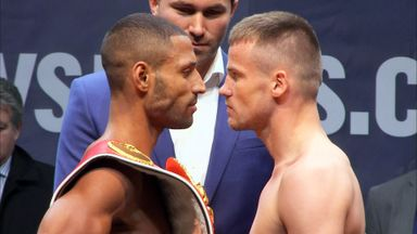 Kell Brook: Swapped a few parting words with Frankie Gavin
