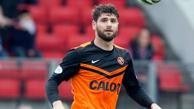 Nadir Ciftci: Dundee United striker denies biting allegation