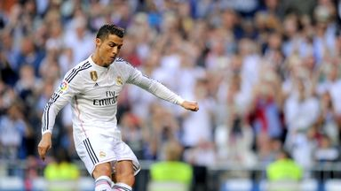 Cristiano Ronaldo: Scores his second goal