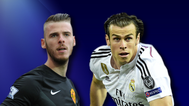 David De Gea and Gareth Bale: Linked with summer moves