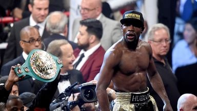 Floyd Mayweather: Under fire from Amir Khan