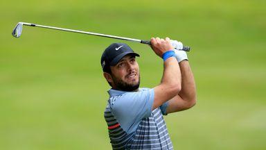 Francesco Molinari during day 2 of the BMW PGA Championship at Wentworth on May 22, 2015