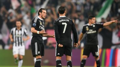 Gareth Bale: Clearly struggled physically against Juventus