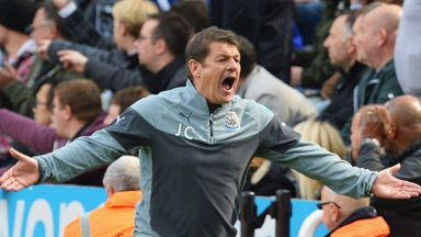 John Carver: Wants fans behind his Newcastle side on Sunday
