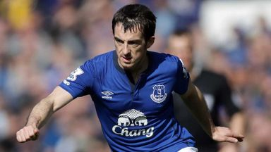 Leighton Baines: The Everton left-back is recovering from ankle surgery in May.