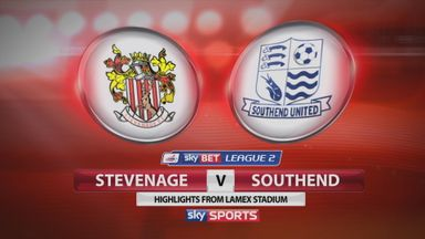 Stevenage 1-1 Southend