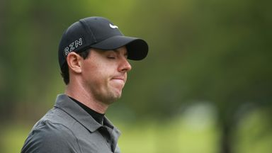 Rory McIlroy: Looked a picture of dejection on the back nine